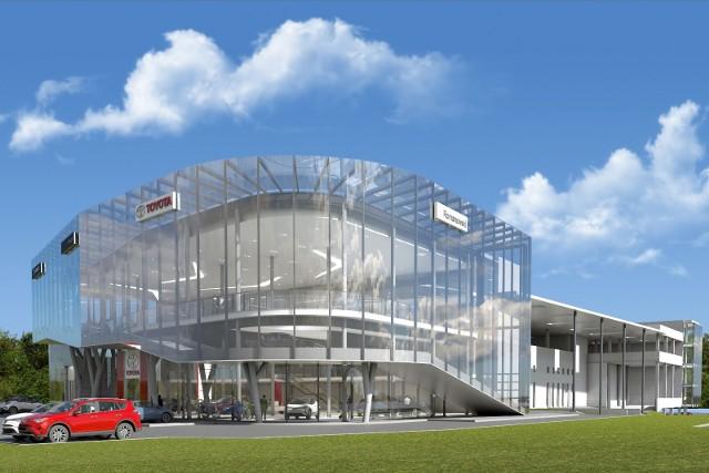 Radomska firma Romanowski buduje największe w Europie salony samochodowe marek Toyota i Lexus. Powstaną w Krakowie.