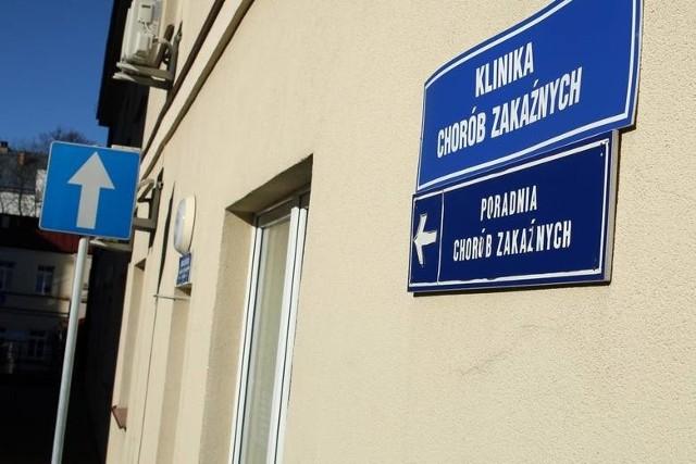 Klinika chorób zakaźnych w SPSK1 w Lublinie przy ul. Staszica
