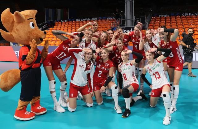 Polki w meczu 1/8 mistrzostw Europy w siatkówce kobiet pokonały 3:1 Ukrainę