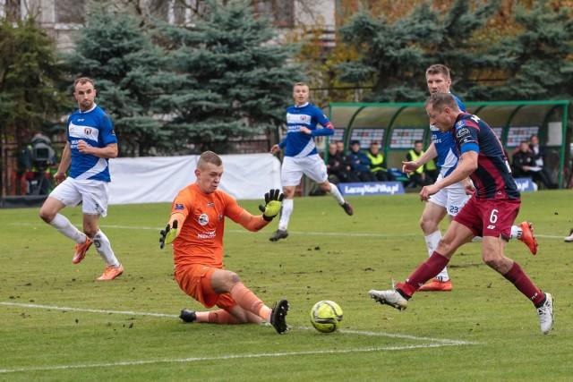 Andrzej Sobieszczyk wpuścił dwa gole, ale Rafałowi Murawskiemu pokonać się nie dał