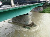 Przekroczone stany alarmowe na Dunajcu i Kamienicy. Najwyższy stopień zagrożenia