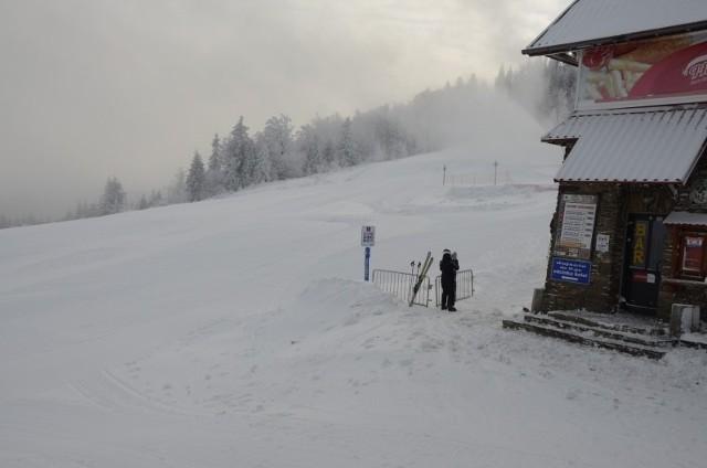 Skrzyczne - tu warunki do jazdy na nartach są bardzo dobre
