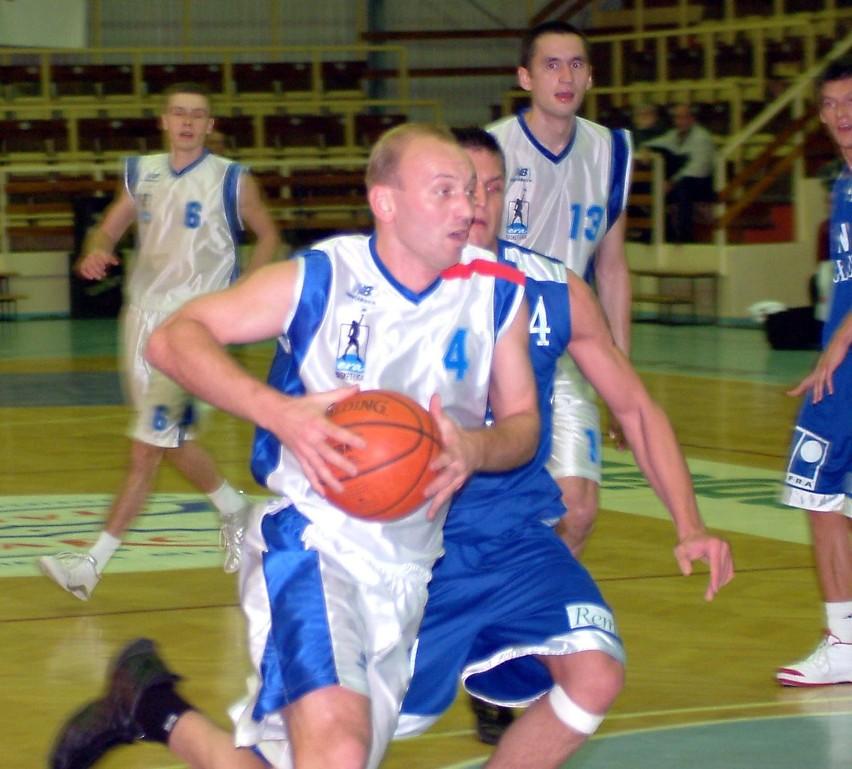 Piotr Nizioł w pierwszym meczu w Bernau był najskuteczniejszym zawodnikiem Spójni. W drugim nie zagrał.