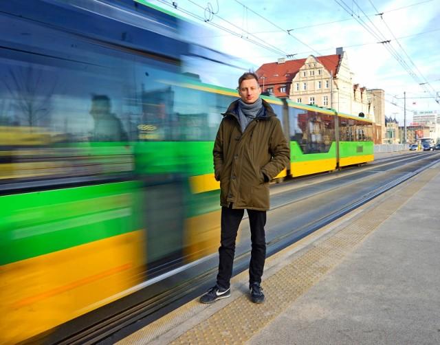 Zdaniem Franciszka Sterczewskiego w Poznaniu przydałoby się stanowisko oficera transportowego, który promowałby komunikację miejską, rowerową i pieszą.