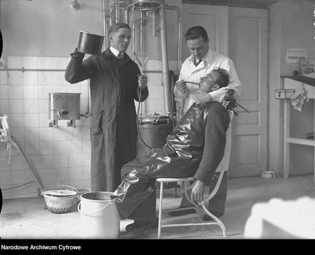 Polska służba zdrowia w latach 20. i 30. XX wieku