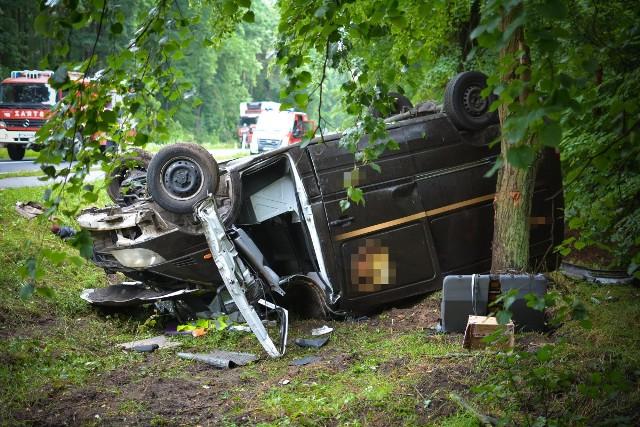 Do wypadku doszło na drodze wojewódzkiej nr 132, tuż przed Witnicą.