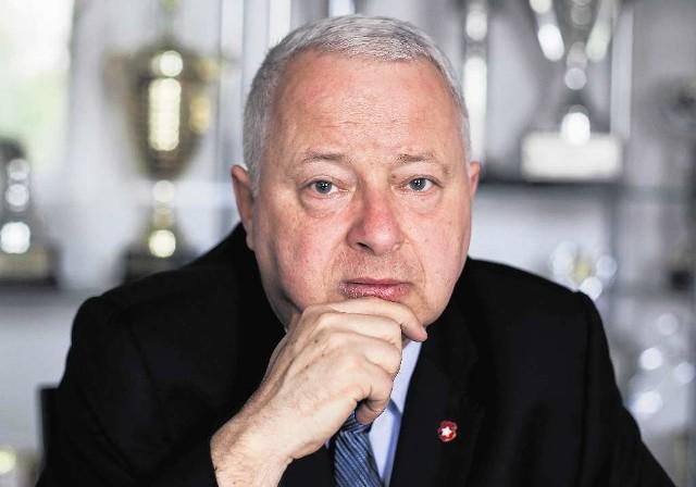 - Jesteśmy zadowoleni ze wszystkich transferów, jakich dokonaliśmy - mówi Piotr Dunin-Suligostowski
