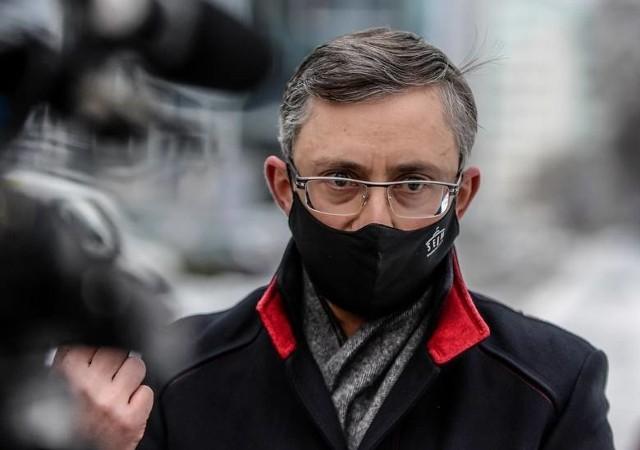 Poseł Lewicy Marek Rutka (na zdjęciu) zarzuca Markowi Gróbarczykowi przekroczenie uprawnień