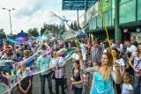 Festiwal Baniek Mydlanych na stadionie Polonii [zdjęcia]