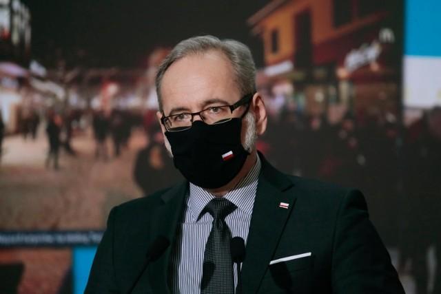- Trzecia fala się rozpędza- stwierdził minister zdrowia Adam Niedzielski, jak tłumaczył, potwierdzają to dzisiejsze wyniki nowych zakażeń.
