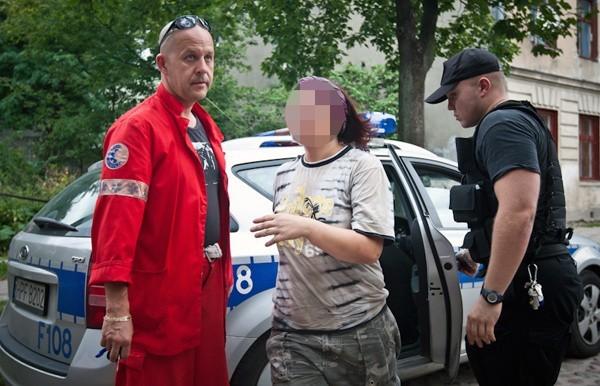 Kobieta trafiła na obserwację psychiatryczną do szpitala im. Biegańskiego.