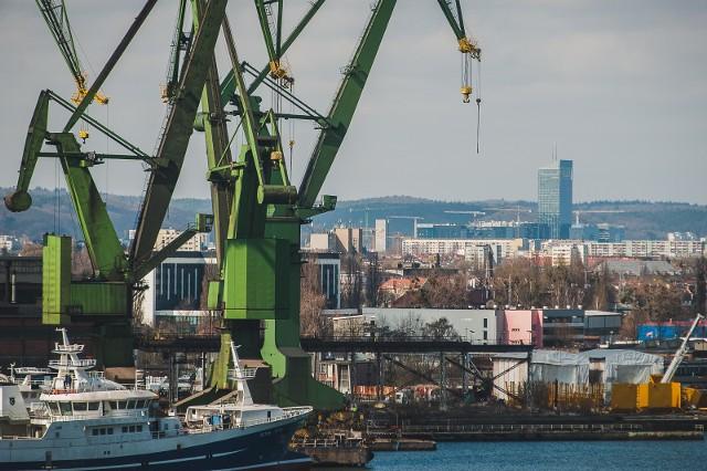 Punkt widokowy na stoczniowym dźwigu w Gdańsku - nowa atrakcja turystyczna w Stoczni Cesarskiej