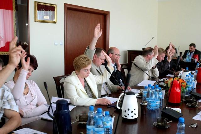 Opozycja głosowała za odrzuceniem uchwały