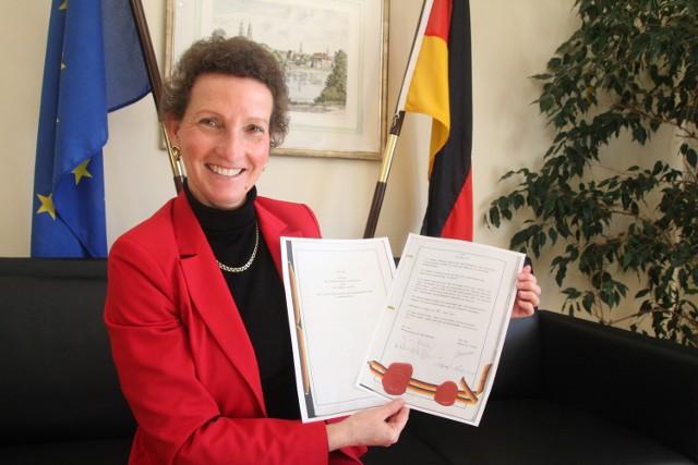 Sabine Haake, od dwóch i pół rokukonsul Niemiec w Opolu.