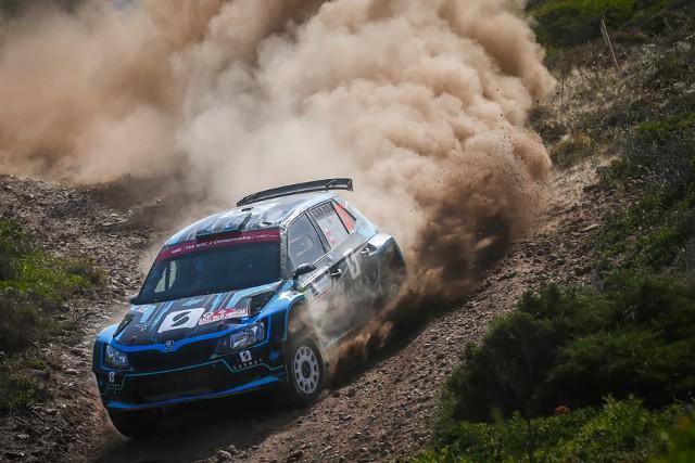 Łukasz Pieniążek zajął piąte miejsce w kategorii WRC 2 Rajdu Sardynii