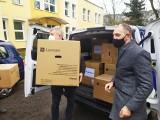 Kolejna firma przekazała Szpitalowi Uniwersyteckiemu w Zielonej Górze sprzęt informatyczny wart 123 tysiące złotych