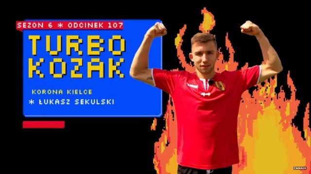 Łukasz Sekulski zaliczył występ w Turbokozaku
