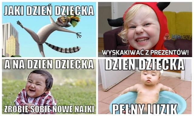 Najnowsze i najlepsze memy na Dzień Dziecka 2021. Zobacz śmieszne zdjęcia i zabawne obrazki z okazji Dnia Dziecka 1.06.2021.