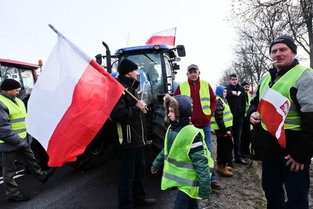 Rolnicy zorganizowali kolejny protest