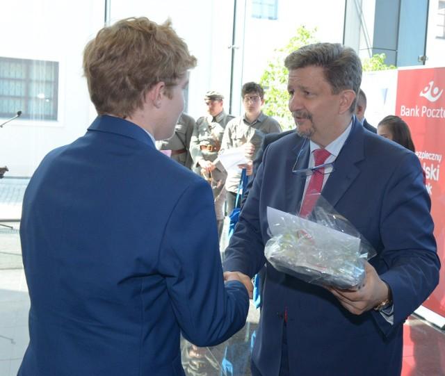 Nagrody wręczał Grzegorz Schreiber, sekretarz stanu w Kancelarii Prezesa Rady Ministrów
