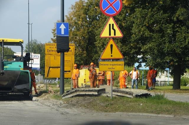Remonty dróg w Łodzi