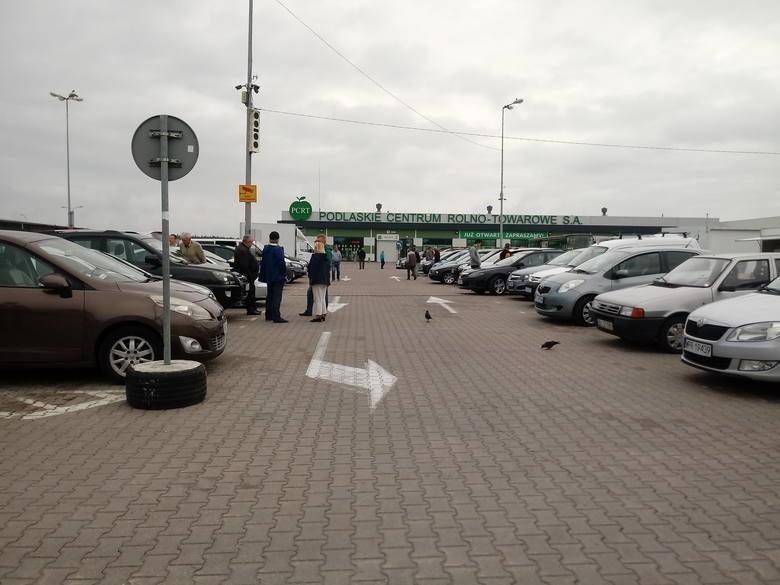 Giełda samochodowa w Białymstoku przy ul. Andersa 40