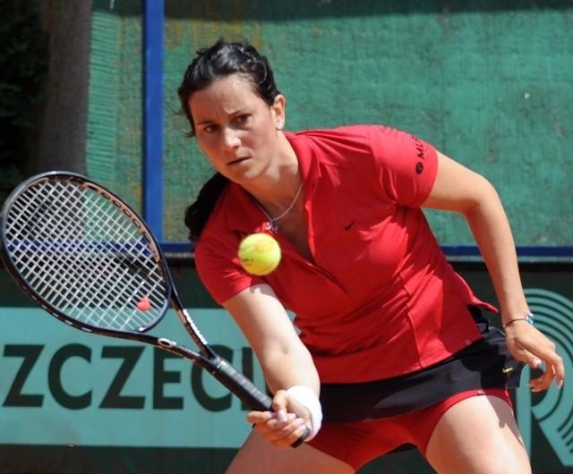 Niemka Stephanie Gehrlein nie dała szans Czeszce Andrei Hlavackovej i pewnie zwyciężyła w całym turnieju Szczecin Open.