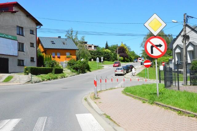 ulica Kniaziewicza w Myślenicach