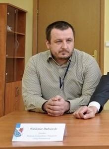 Waldemar Dubrawski, jeszcze jako dyrektor Zarządu Dróg Powiatowych w Gryficach.