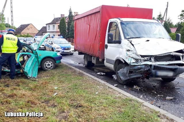 Do wypadku doszło w czwartek, 28 maja w Starym Żaganiu.