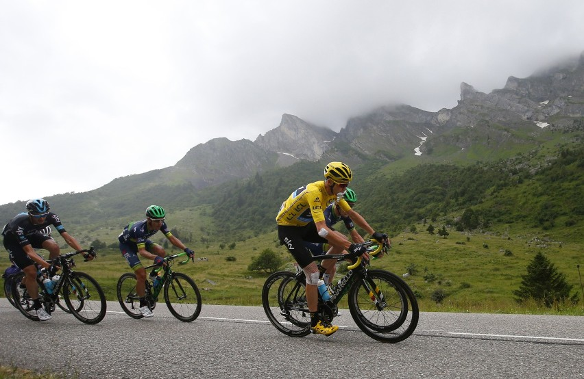 Chris Froome wygrałTour de France po raz trzeci w karierze