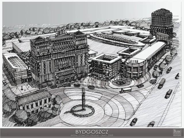 Tak ma wyglądać centrum handlowe czwartej generacji, które powstanie przy ul. Leśnej, na byłych terenach Makrum