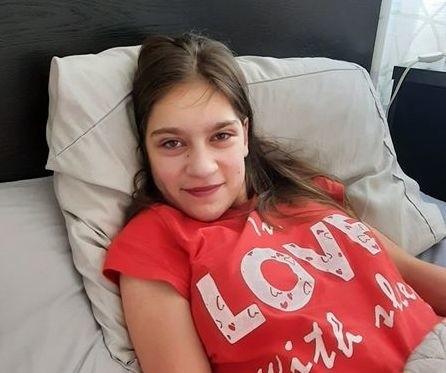 Weronika Kępas jest już w domu po badaniach i czeka na operację.