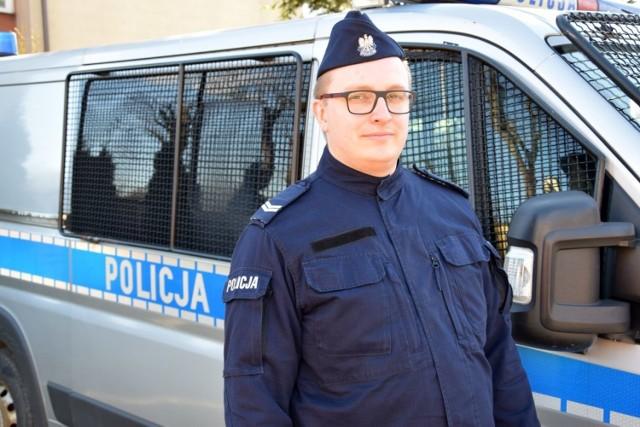 St. sierż. Dawid Kozak z Władysławowa
