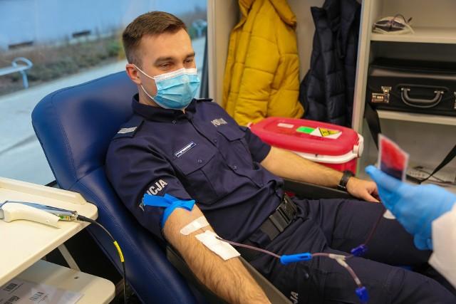 Akcja krwiodawstwa potrwa do końca lipca