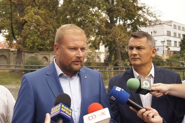 Witold Zembaczyński ma pierwsze miejsce na liście Koalicji Obywatelskiej do Sejmu. Tomasz Kostuś jest drugi.