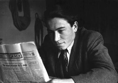 Zenon Jagoda - fotografia z lat 40. ze zbiorów rodzinnych