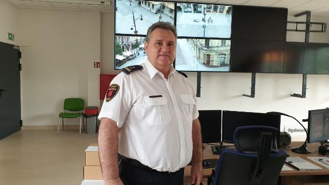 Rozbudowę monitoringu miejskiego zapowiedział Zbigniew Kuleta, komendant Straży Miejskiej w Łodzi.