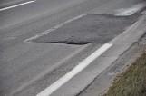 Droga z Grodziska w kierunku Poznania po remoncie wygląda... jeszcze gorzej [ZDJĘCIA]