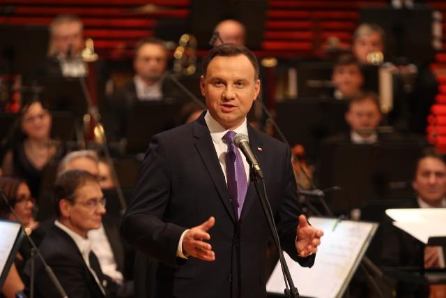 Prezydent Andrzej Duda w NOSPR