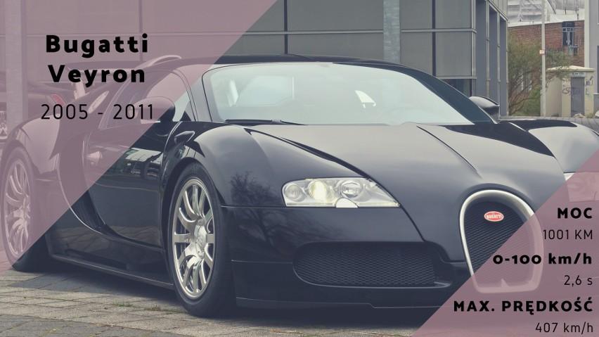 Obecność Bugatti Veyron w tym rankingu nikogo nie powinna...