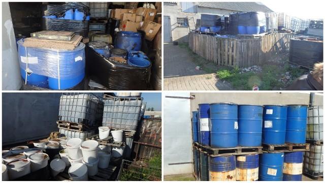 Niebezpieczne odpady były gromadzone w Głowińsku koło Rypina