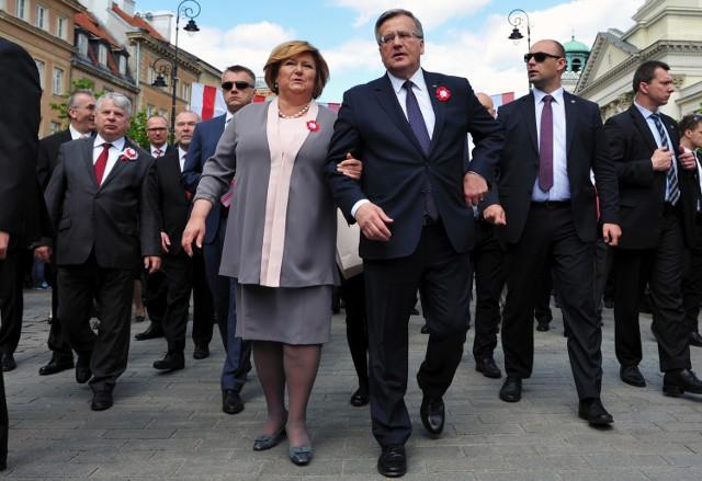 Uroczystości obchodów rocznicy uchwalenia Konstytucji 3 maja w Warszawie