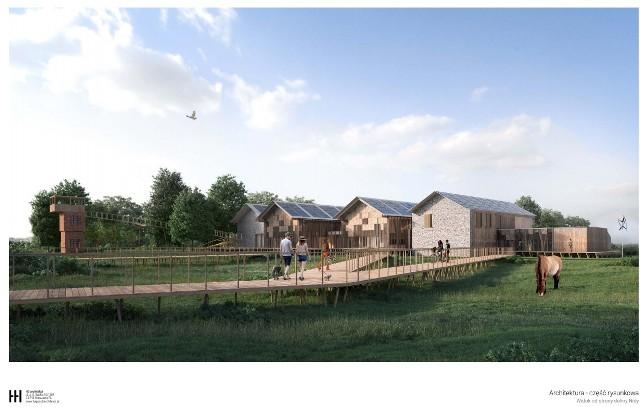 Tak będzie wyglądać Ośrodek Edukacji Przyrodniczej w Umianowicach.