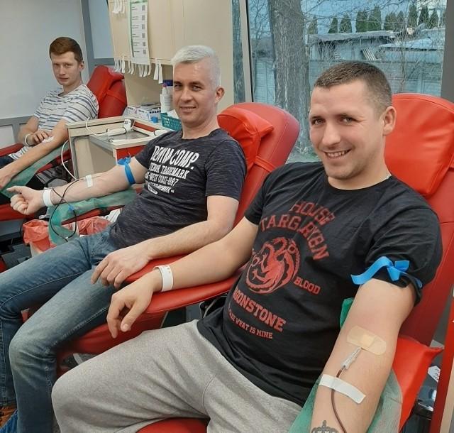 Krwiodawcy w Mogilnie często zasilają bank krwi