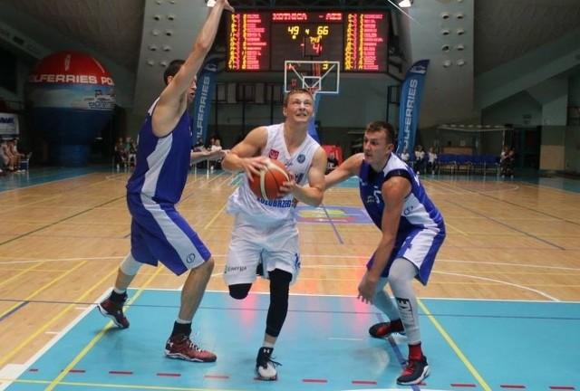 Paweł Dzierżak (z piłką)