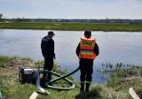 Strażacy z Pińczowa trenowali na wypadek powodzi. Zobacz zdjęcia