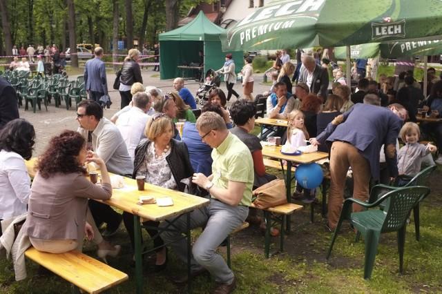 Piknik rodzinny PO w Katowicach-Giszowcu