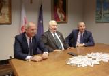 Konferencja Grzegorza Schetyny i Lecha Wałęsy w Europejskim Centrum Solidarności [ZDJĘCIA]