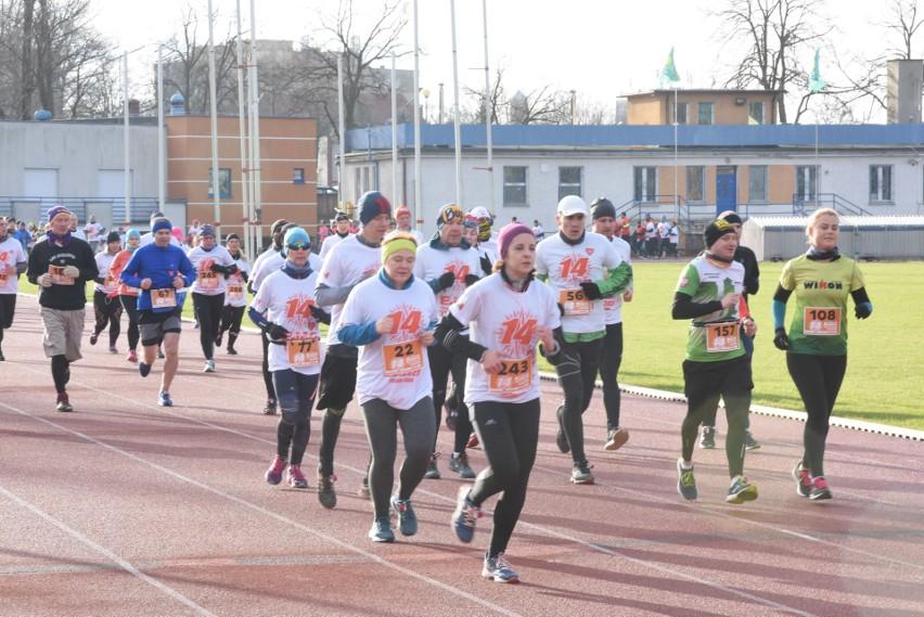 Co roku na WOŚP odbywały się też biegi.